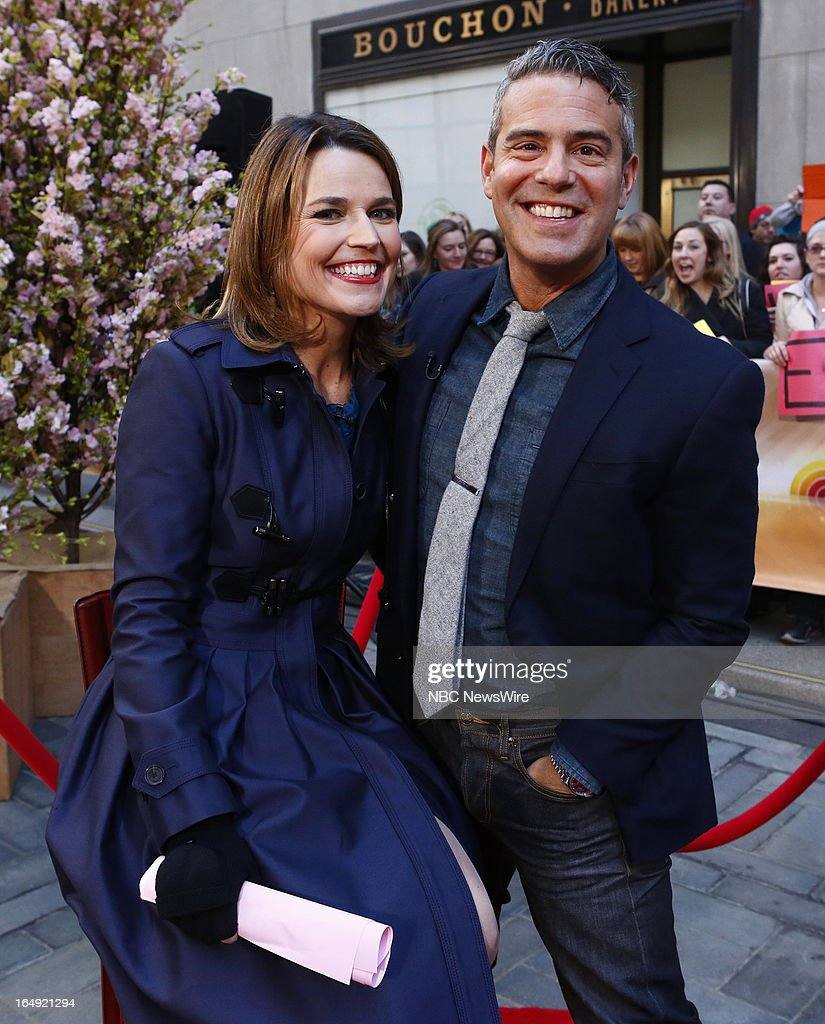 <a gi-track='captionPersonalityLinkClicked' href=/galleries/search?phrase=Savannah+Guthrie&family=editorial&specificpeople=653313 ng-click='$event.stopPropagation()'>Savannah Guthrie</a> and Andy Cohen appear on NBC News' 'Today' show --