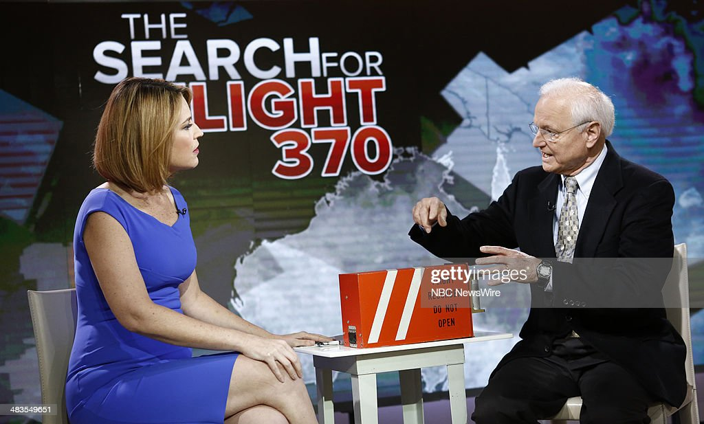 Savannah Guthrie and Bob Hager appear on NBC News' 'Today' show --