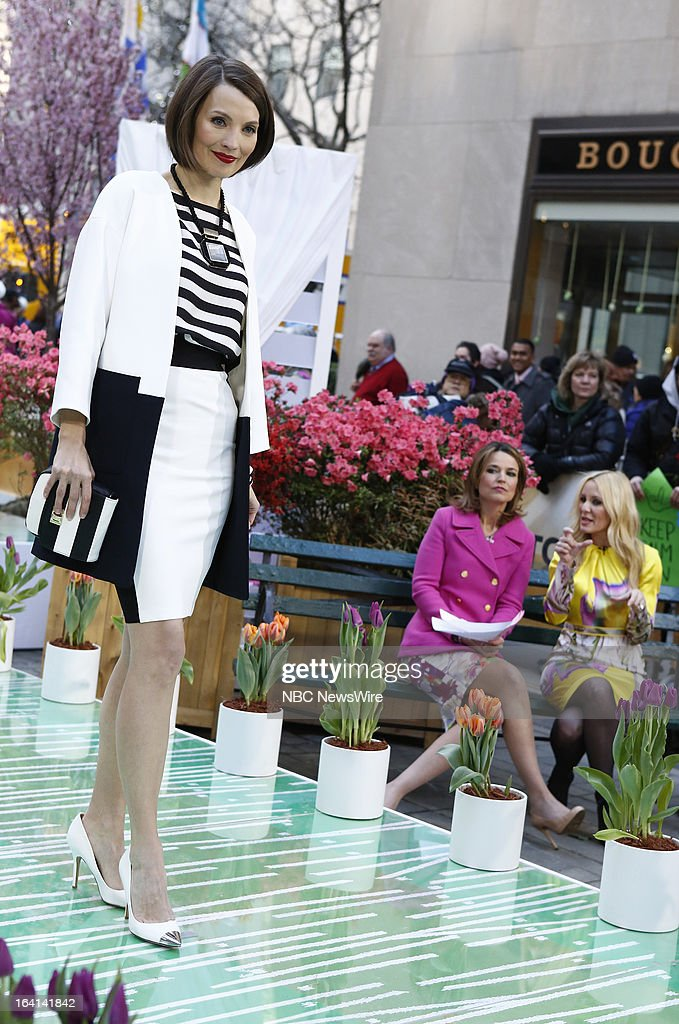 Savannah Guthrie and Chassie Post appear on NBC News' 'Today' show on March 20, 2013 --