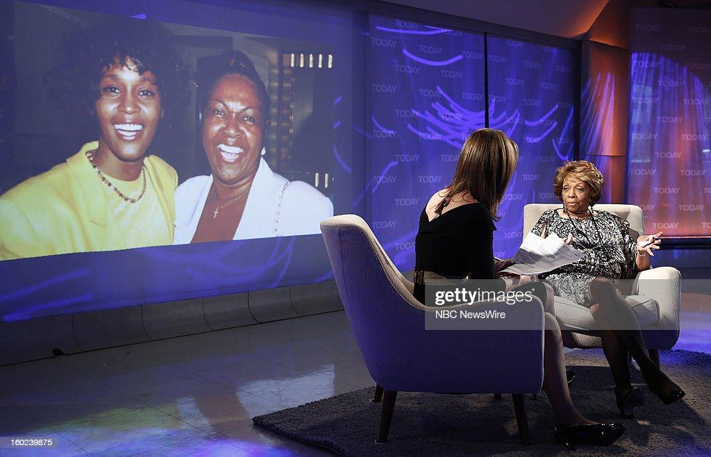 Savannah Guthrie and Cissy Houston appear on NBC News' 'Today' show --