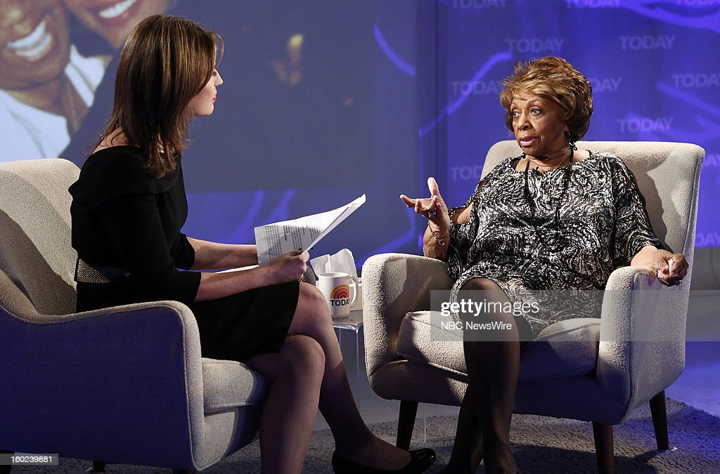 Savannah Guthrie and Cissy Houston appear on NBC News' 'Today' show --