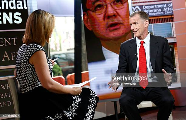 Savannah Guthrie and Gen Stanley McChrystal appear on NBC News' 'Today' show