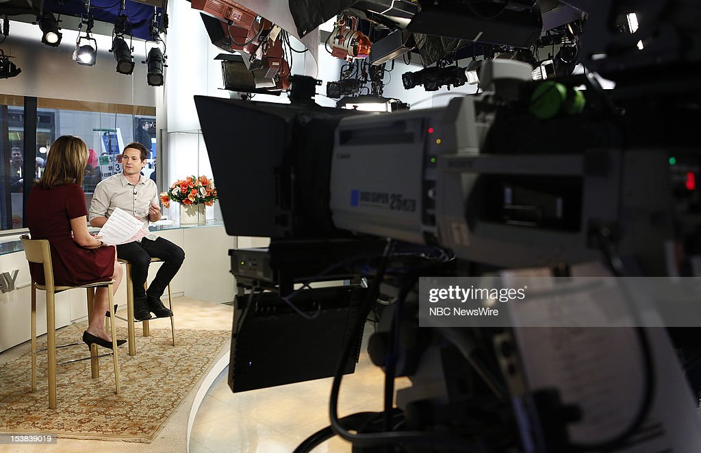Savannah Guthrie and Henry Thomas appear on NBC News' 'Today' show --