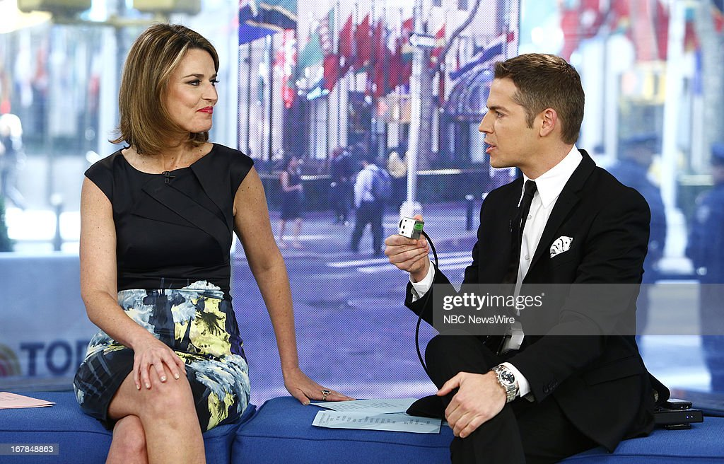 <a gi-track='captionPersonalityLinkClicked' href=/galleries/search?phrase=Savannah+Guthrie&family=editorial&specificpeople=653313 ng-click='$event.stopPropagation()'>Savannah Guthrie</a> and Jason Kennedy appear on NBC News' 'Today' show --