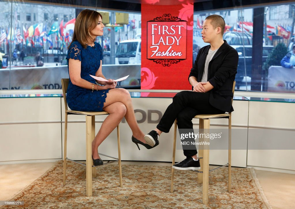 Savannah Guthrie and Jason Wu appear on NBC News' 'Today' show --