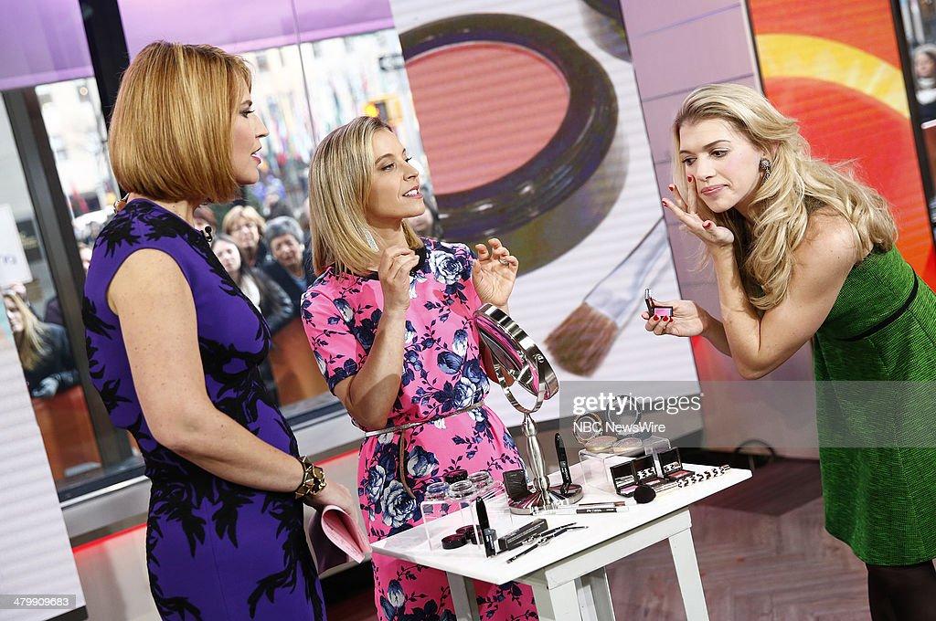 Savannah Guthrie and Jenn Falik appear on NBC News' 'Today' show --