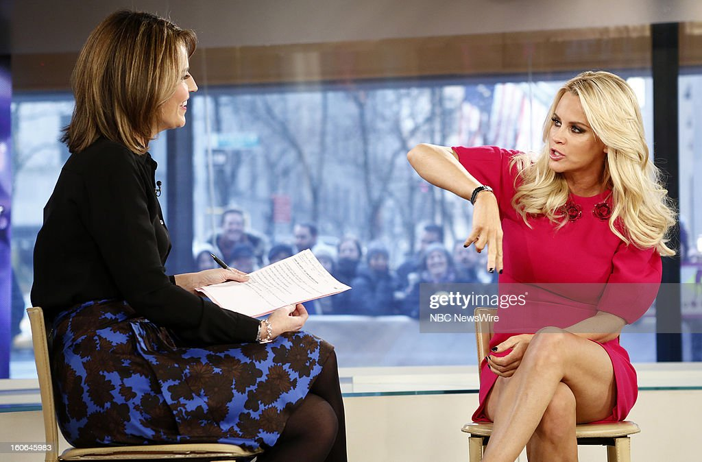 Savannah Guthrie and Jenny McCarthy appear on NBC News' 'Today' show --