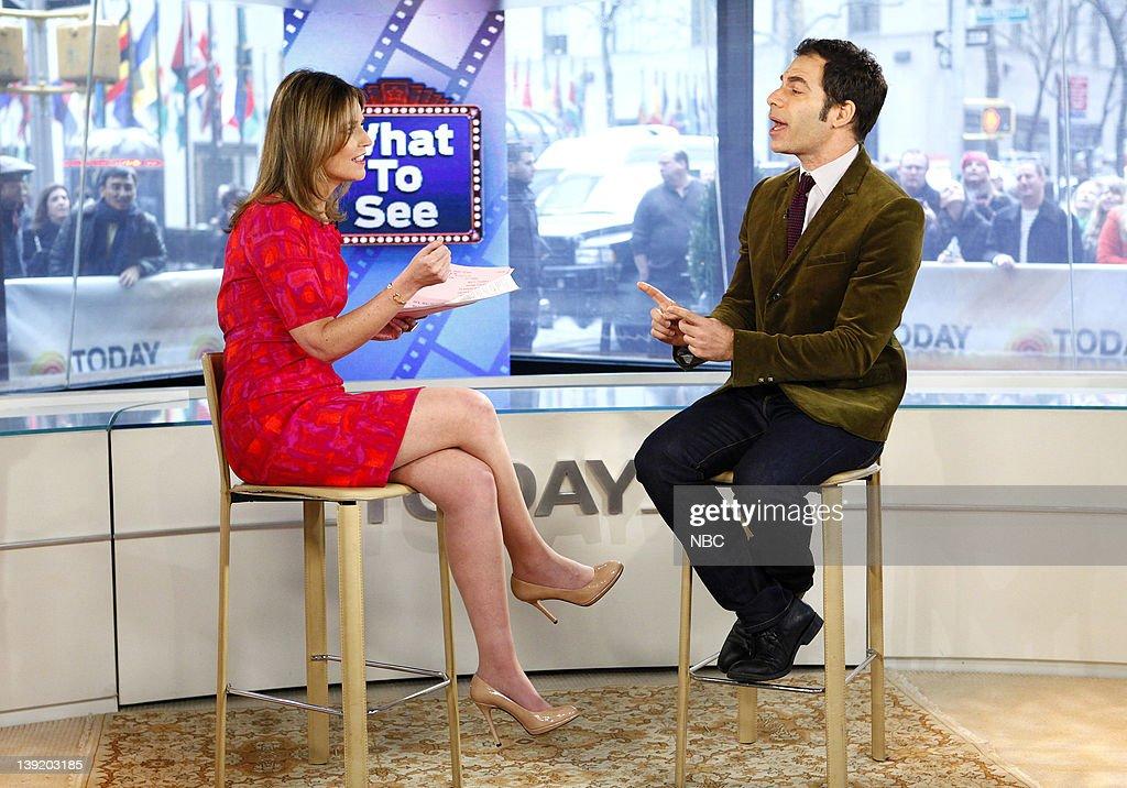 Savannah Guthrie and Joe Levy appear on NBC News' 'Today' show --