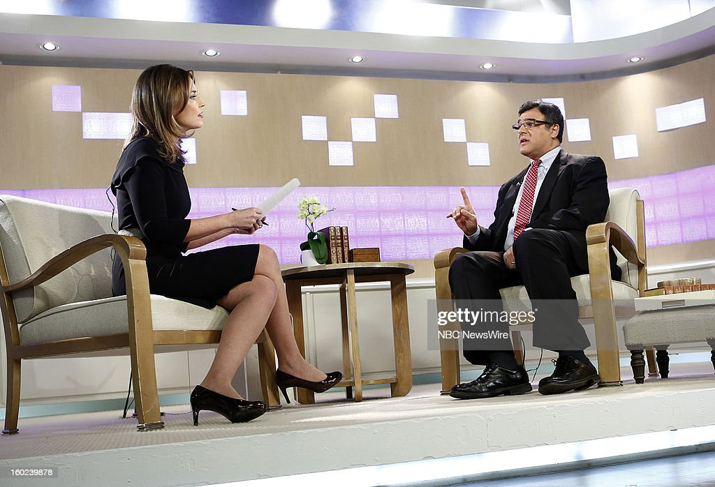 Savannah Guthrie and John Kiriakou appear on NBC News' 'Today' show --