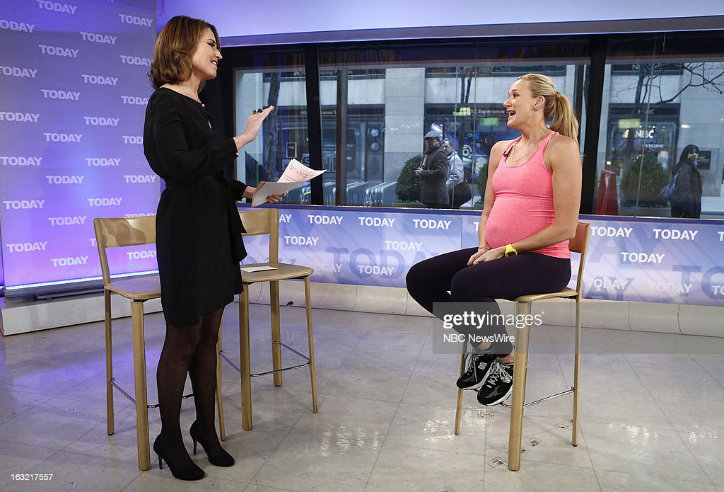 Savannah Guthrie and Kerri Walsh Jennings appear on NBC News' 'Today' show --