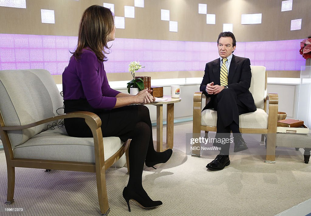 Savannah Guthrie and Lawrence Wright appear on NBC News' 'Today' show --