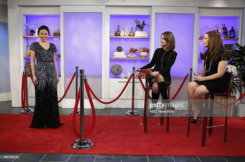 Savannah Guthrie and Liza Bychkov appear on NBC News' 'Today' show --