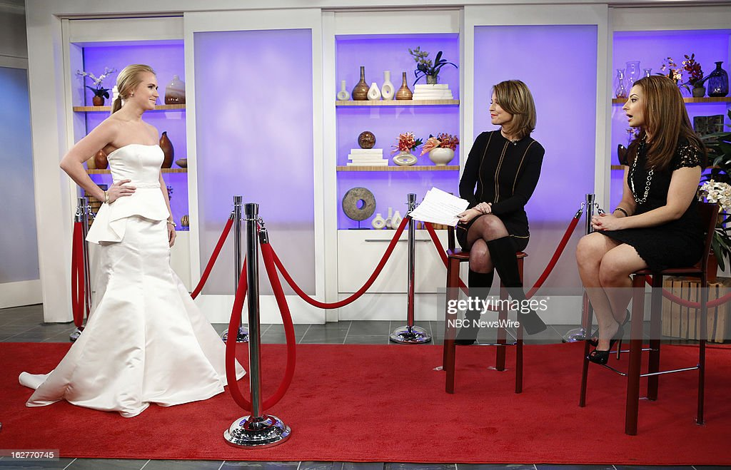 Savannah Guthrie and Liza Bychkov appear on NBC News' 'Today' show --