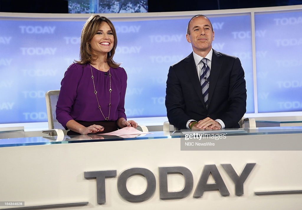 <a gi-track='captionPersonalityLinkClicked' href=/galleries/search?phrase=Savannah+Guthrie&family=editorial&specificpeople=653313 ng-click='$event.stopPropagation()'>Savannah Guthrie</a> and <a gi-track='captionPersonalityLinkClicked' href=/galleries/search?phrase=Matt+Lauer&family=editorial&specificpeople=206146 ng-click='$event.stopPropagation()'>Matt Lauer</a> appear on NBC News' 'Today' show --