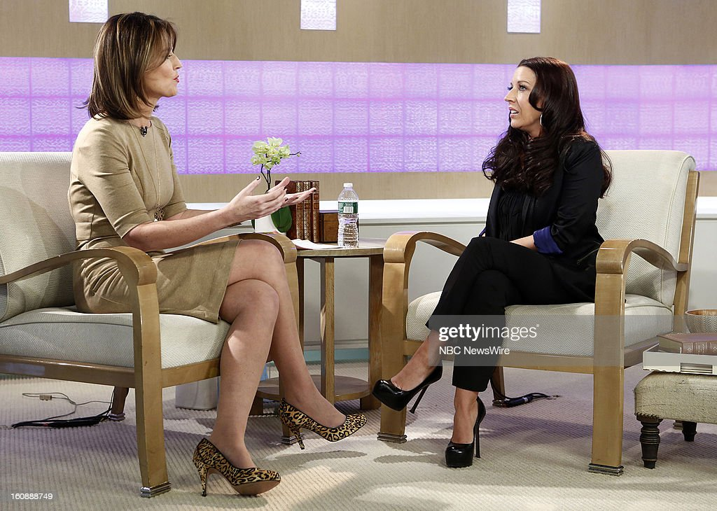 Savannah Guthrie and Pattie Mallette appear on NBC News' 'Today' show --