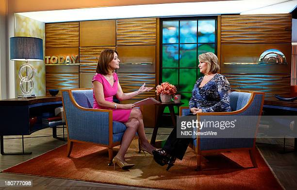 Savannah Guthrie and Samantha Geimer appear on NBC News' 'Today' show