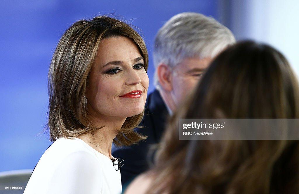 Savannah Guthrie appears on NBC News' 'Today' show --