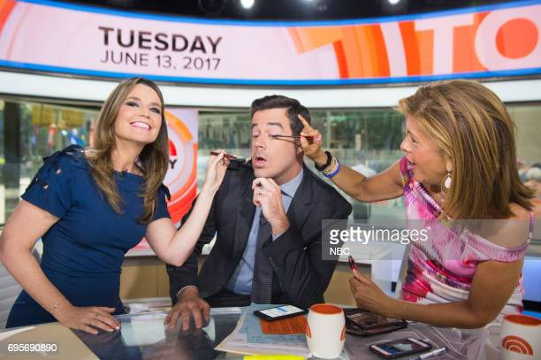 Savannah Guthrie Carson Daly and Hoda Kotb on Monday June 13 2017