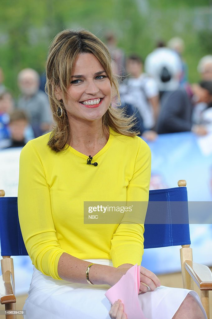 <a gi-track='captionPersonalityLinkClicked' href=/galleries/search?phrase=Savannah+Guthrie&family=editorial&specificpeople=653313 ng-click='$event.stopPropagation()'>Savannah Guthrie</a> during the 2012 Summer Olympic Games on July 31, 2012 in London, England --