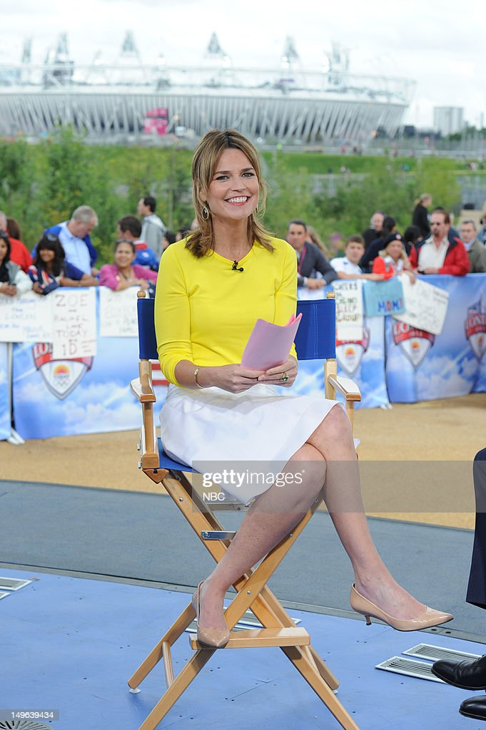 Savannah Guthrie during the 2012 Summer Olympic Games on July 31, 2012 in London, England --