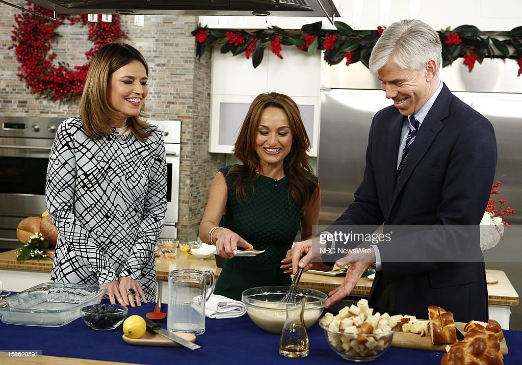 "NBC's ""Today"" With Guests Christina Perri, Giada de Laurentiis"