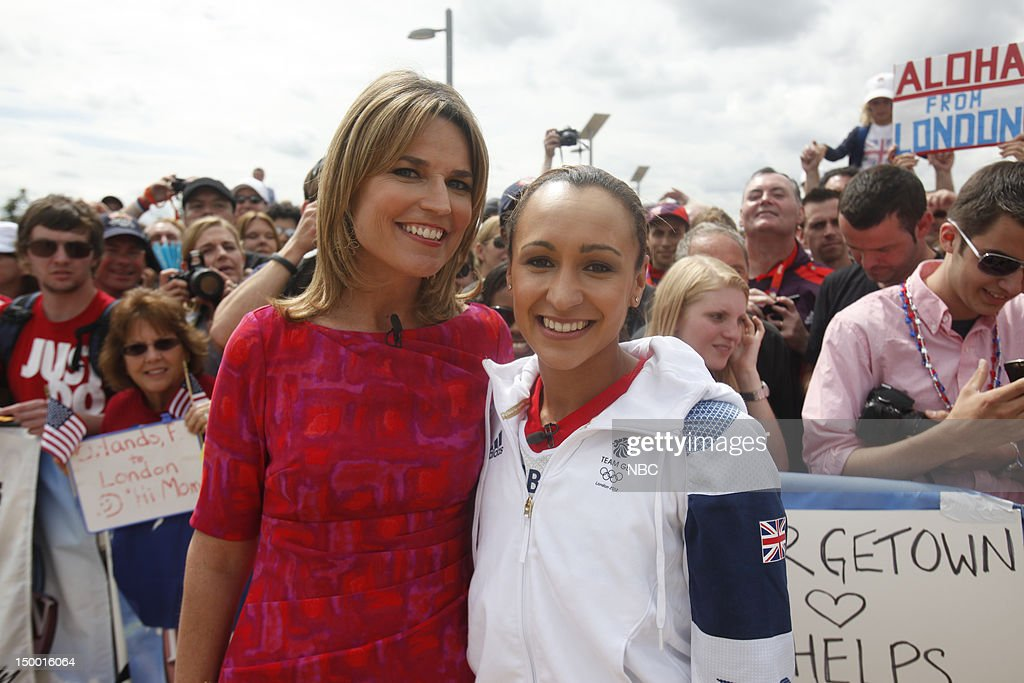 <a gi-track='captionPersonalityLinkClicked' href=/galleries/search?phrase=Savannah+Guthrie&family=editorial&specificpeople=653313 ng-click='$event.stopPropagation()'>Savannah Guthrie</a>, <a gi-track='captionPersonalityLinkClicked' href=/galleries/search?phrase=Jessica+Ennis&family=editorial&specificpeople=602482 ng-click='$event.stopPropagation()'>Jessica Ennis</a> on August 7, 2012 --