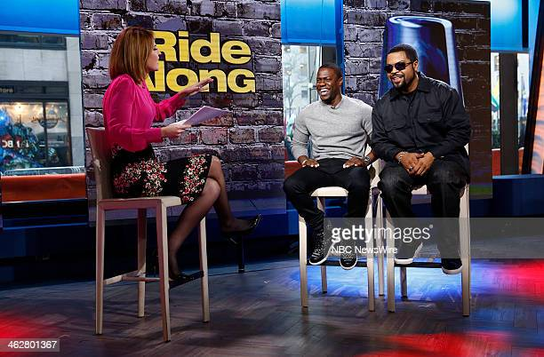 Savannah Guthrie Kevin Hart and Ice Cube appear on NBC News' 'Today' show