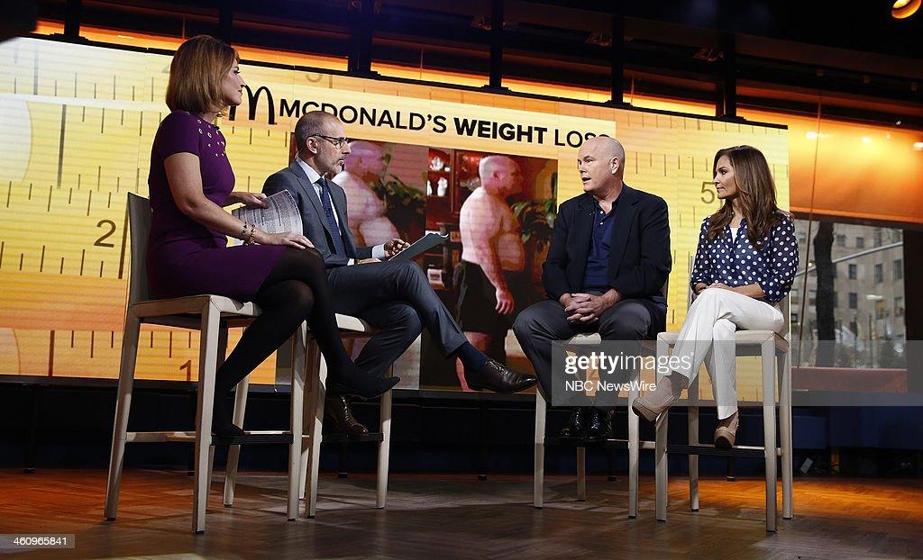 Savannah Guthrie, Matt Lauer, John Cisnas and Joy Bauer appear on NBC News' 'Today' show --