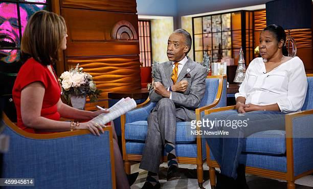 Savannah Guthrie Rev Al Sharpton and Esaw SnipesGarner appear on NBC News' 'Today' show