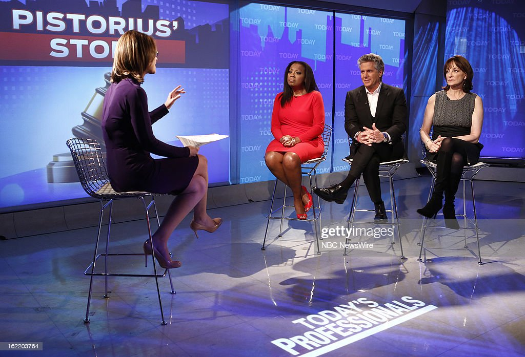 Savannah Guthrie, Star Jones, Donny Deutsch and Dr. Nancy Snyderman appear on NBC News' 'Today' show --