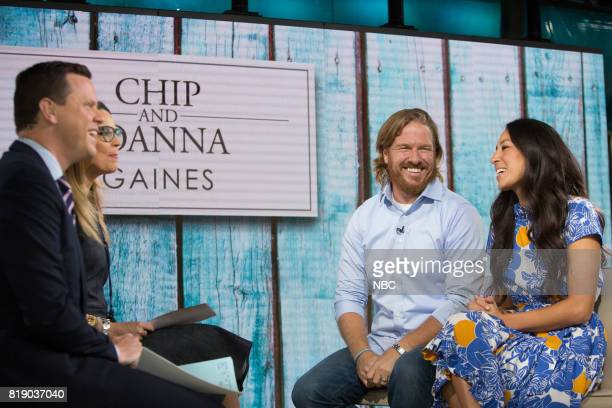 Savannah Guthrie Willie Geist Hoda Kotb Chip and Joanna Gaines on Tuesday July 18 2017
