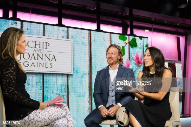 Savannah Guthrie with Chip and Joanna Gaines on Tuesday October 17 2017