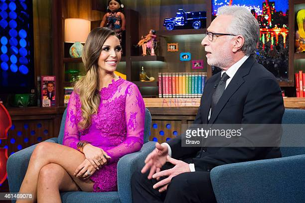 Scheana Marie and Wolf Blitzer