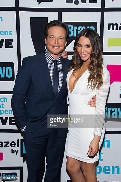Scott Wolf and Scheana Marie Shay