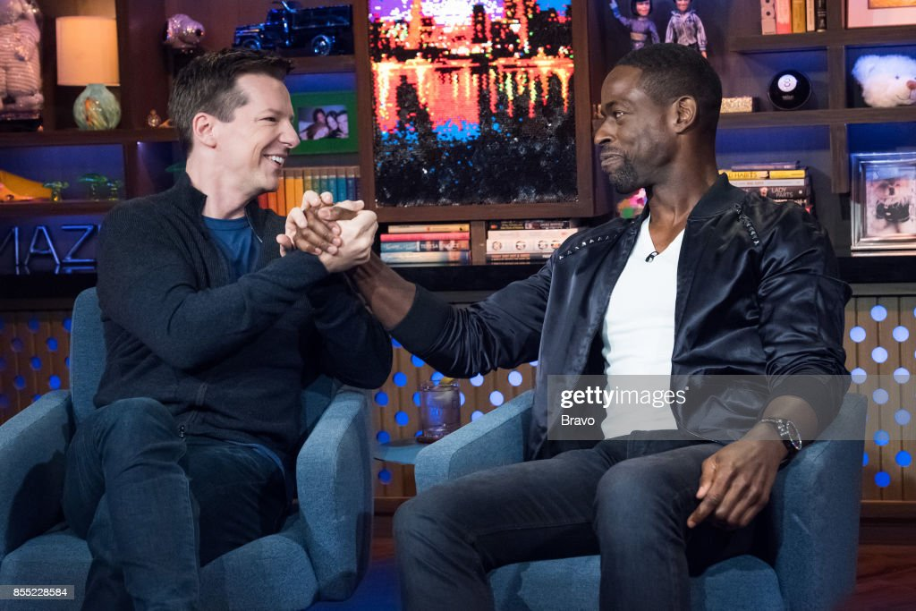 Sean Hayes and Sterling K. Brown --