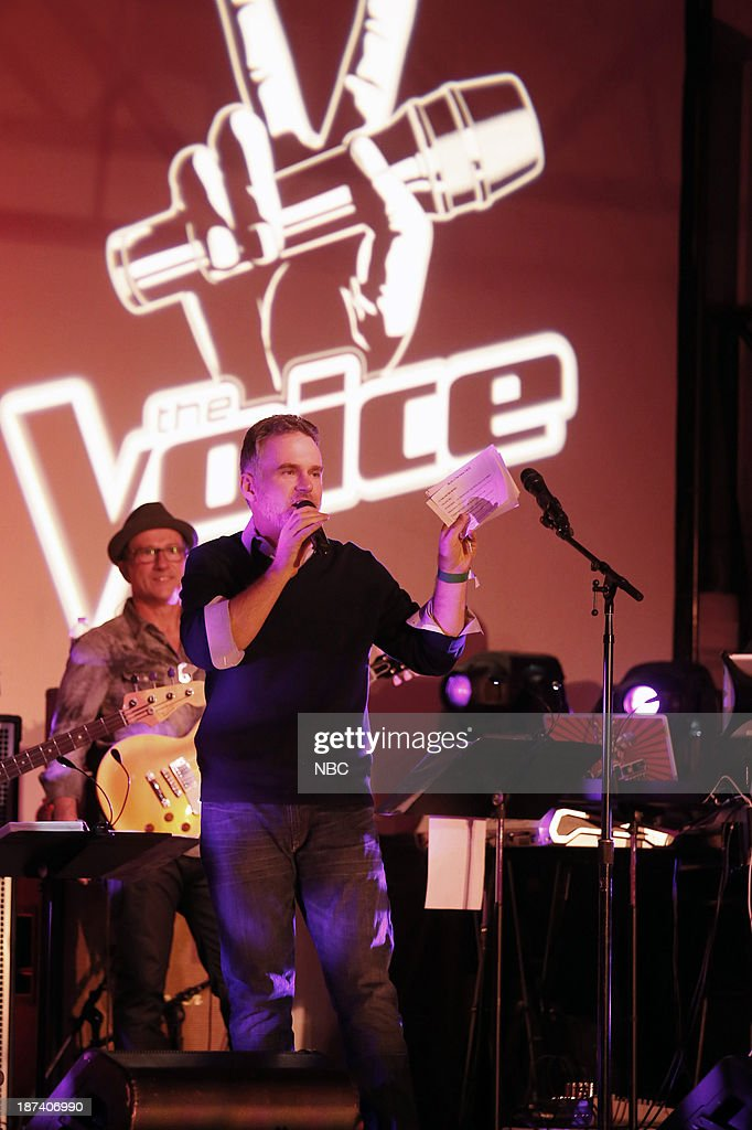 Sean Valentine, host of Valentine in the Morning on 104.3 MYfm at a special live performance event celebrating the top 12 artists of NBC's Emmy award winning hit 'The Voice' at Boulevard 3 in Hollywood, CA. 'The Voice' live shows continue on Monday, November 11th at 8 p.m. ET --