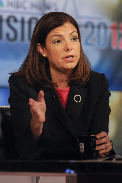 – Sen Kelly Ayotte appears on 'Meet the Press' in Washington DC Sunday Sept 23 2012