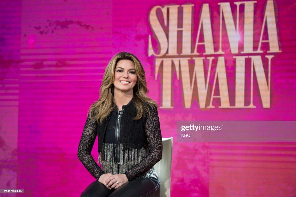 Shania Twain on Friday, June 16, 2017 --