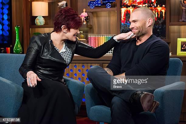 Sharon Osbourne and Seann William Scott
