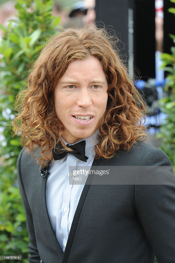 Shawn White on August 2, 2012 -- Photo by: