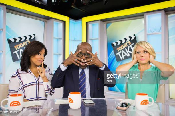 Sheinelle Jones Al Roker and Dylan Dreyer on Tuesday August 15 2017