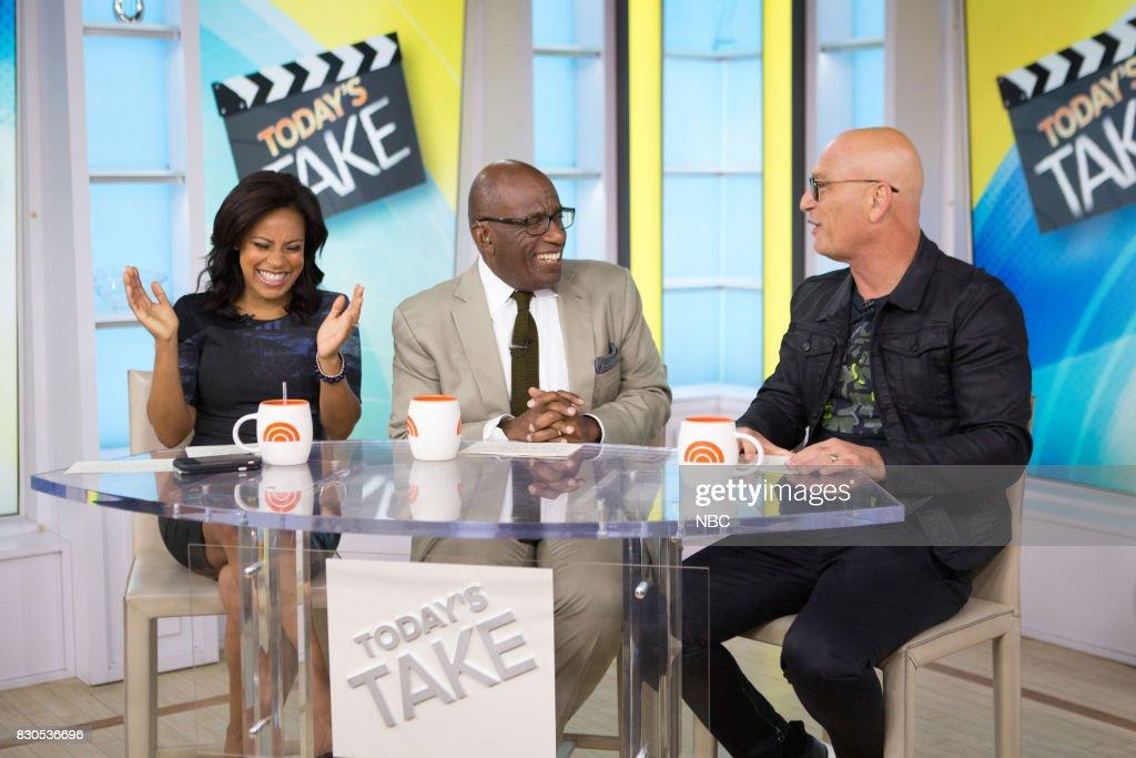 Sheinelle Jones, Al Roker, and Howie Mandel on Friday, Aug.11, 2017 --