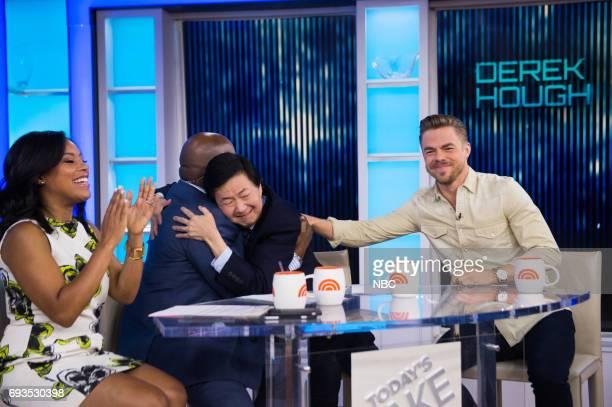 Sheinelle Jones Al Roker Derek Hough and Ken Jeong on Tuesday June 6 2017