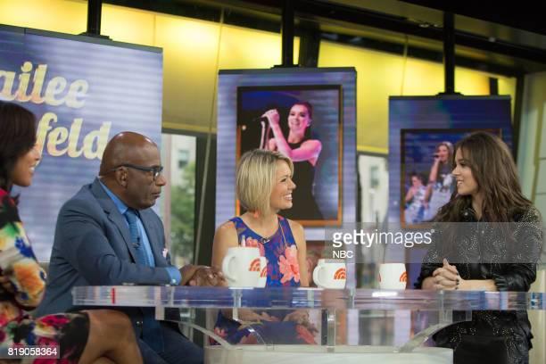Sheinelle Jones Al Roker Dylan Dreyer and Hailee Steinfeld on Friday July 14 2017