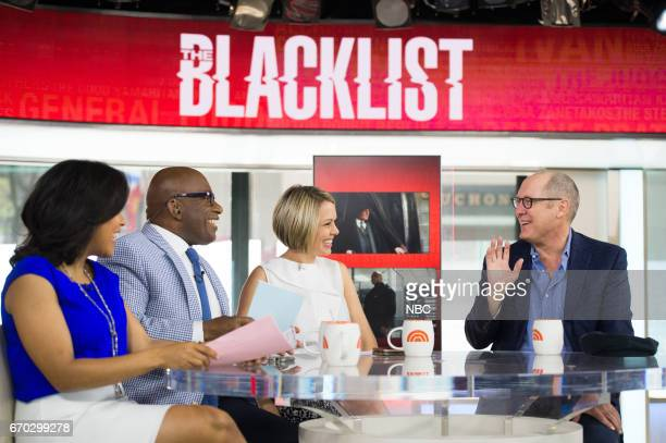 Sheinelle Jones Al Roker Dylan Dreyer talk with Emmy winner James Spader about The Blacklist in which he plays the infamous criminal James Red...
