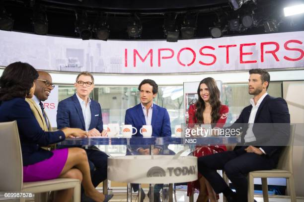 Sheinelle Jones Al Roker Rob Heaps Parker Young and Marianne Rendon on Monday April 10 2017