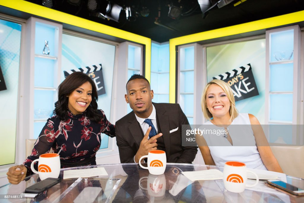 Sheinelle Jones, Marlon Wayans and Dylan Dreyer on Tuesday, August 22, 2017 --