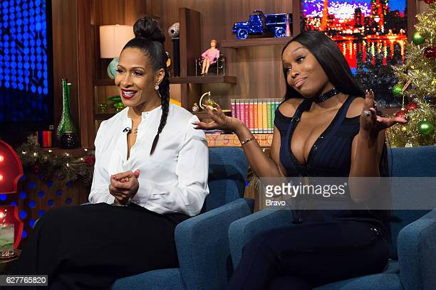 Sheree Whitfield and Quad WebbLunceford