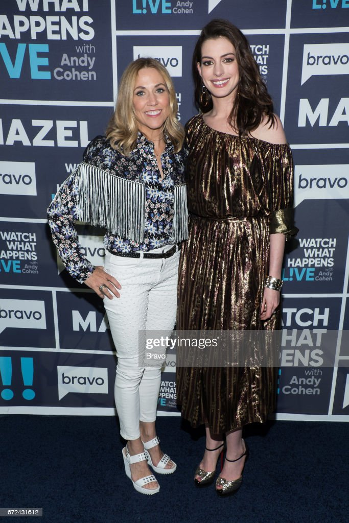 Sheryl Crow and Anne Hathaway --