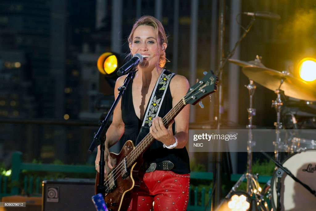 S FOURTH OF JULY FIREWORKS SPECTACULAR -- Pictured: Sheryl Crow rehearses for the 2017 'Macy's Fourth of July Fireworks Spectacular' --